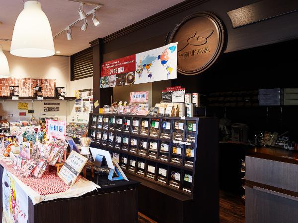 茶葉とコーヒー豆 もりかわ 御坊店 外観